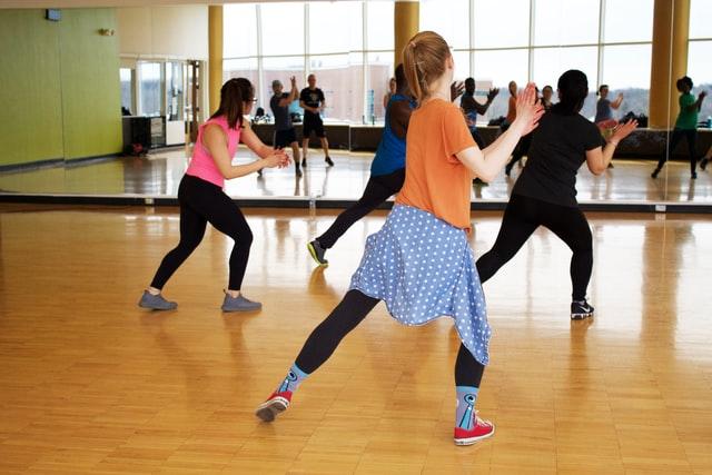 zumba demonstration class | fitness challenge